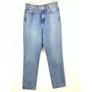 Ettica Finn High Rise Slim Straight Jeans